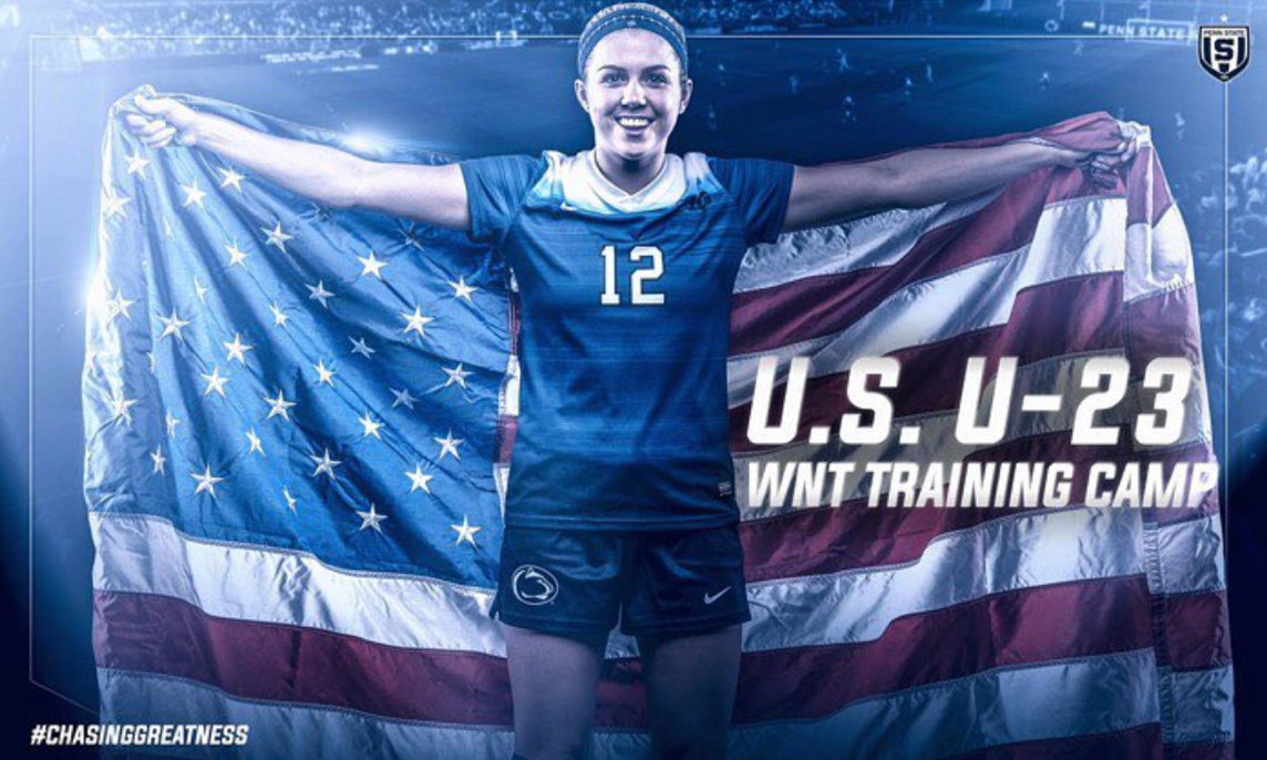 Charlotte Williams joins U23 Women's National team training camp