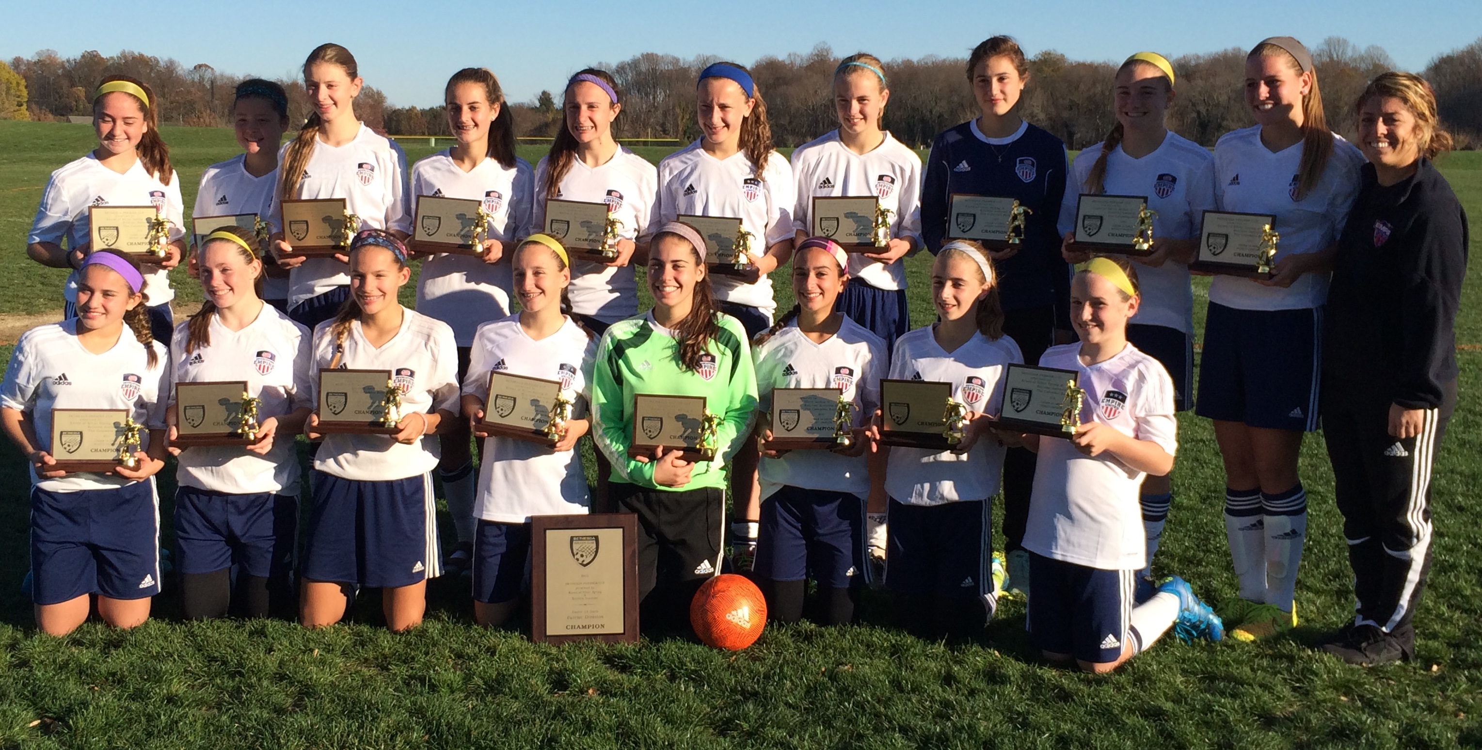 Rochester GU14's Champions at Bethesda