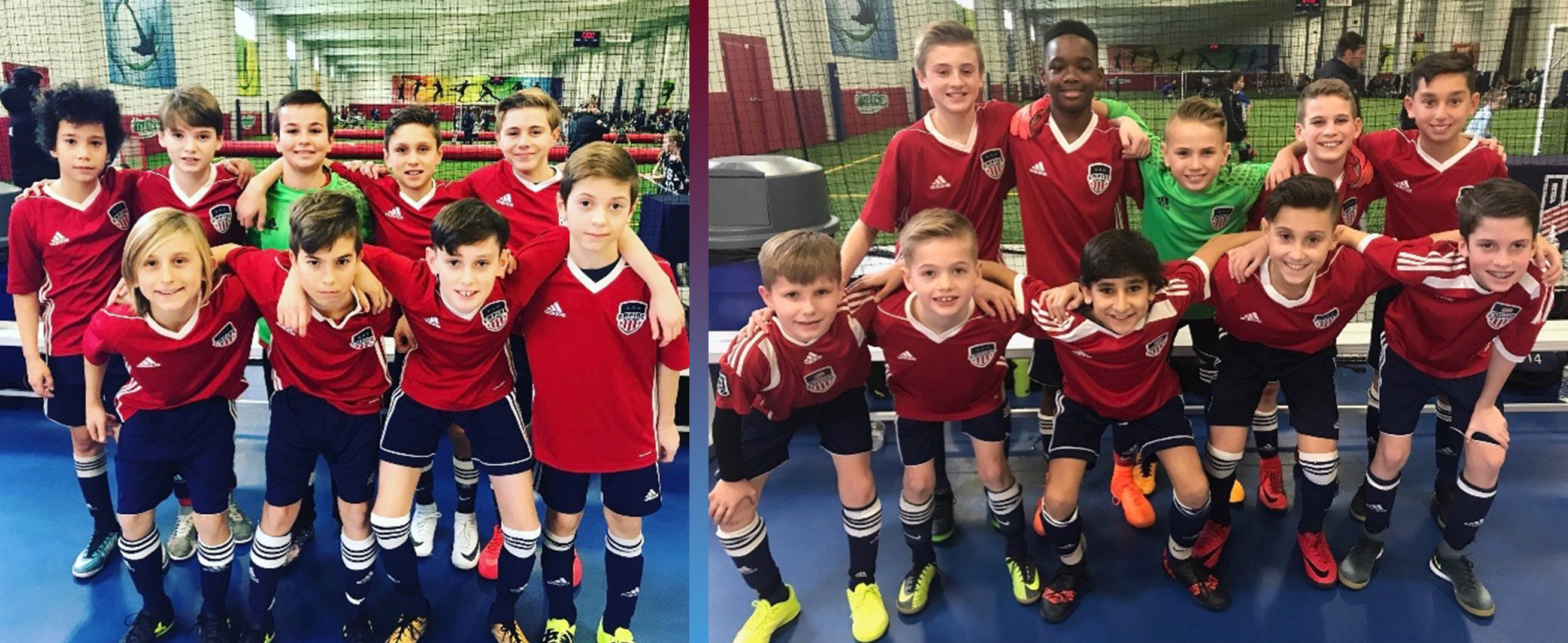 Empire United Pre-Academy Compete in the US Soccer Development Academy Regional Futsal Event
