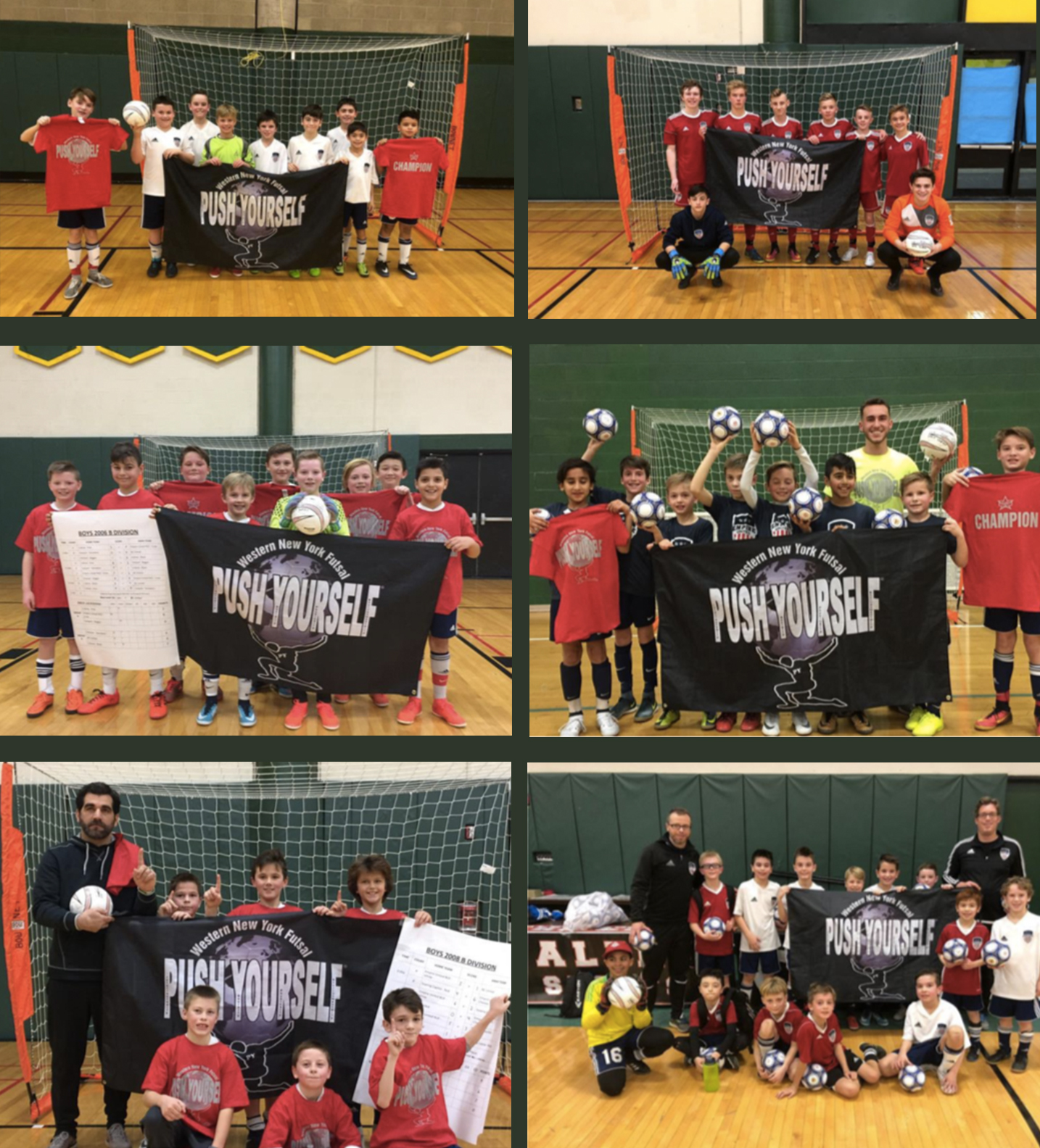 Empire United Find Success at Push Yourself Futsal Tournament