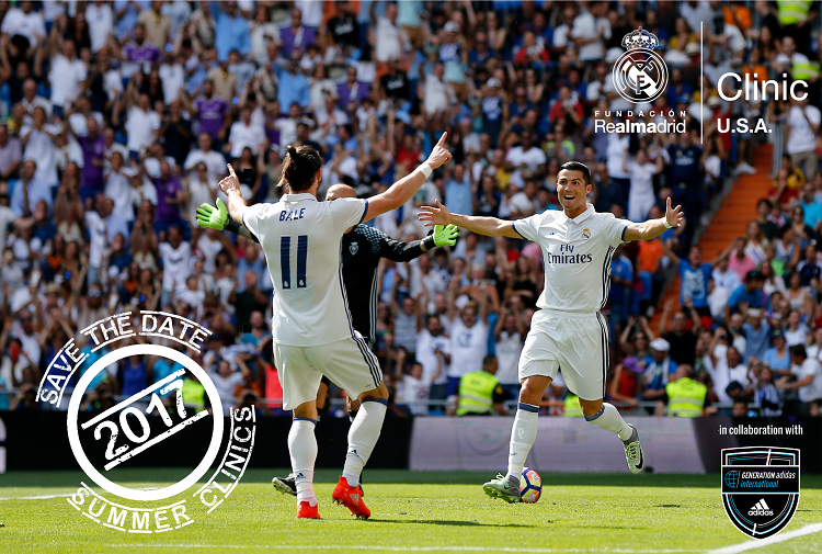 Real Madrid Foundation Clinics Coming to Empire United for Summer 2017