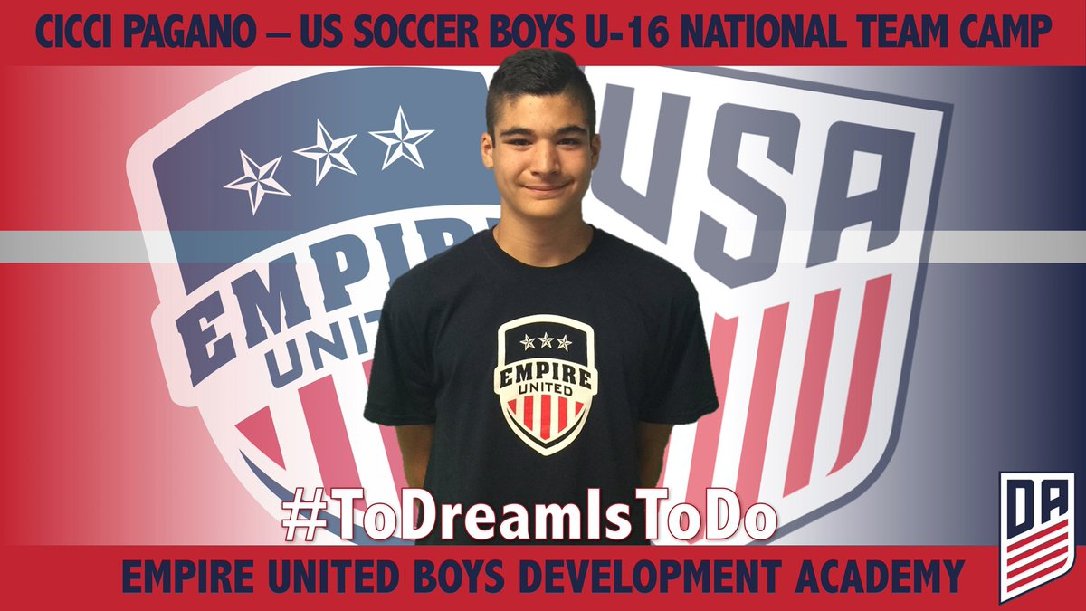 Cicci Pagano Called Into U16 National Team Camp