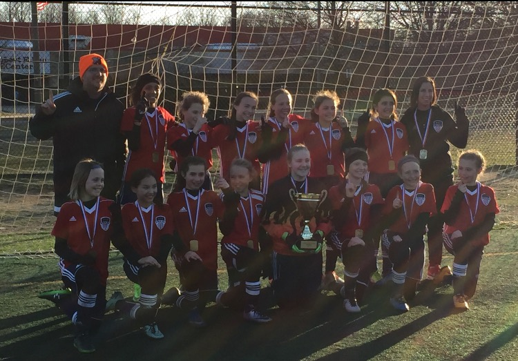 Rochester Girls U12's Champions of Arlington