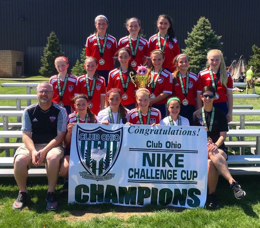 Rochester GU12's defend their Nike Cup Championship