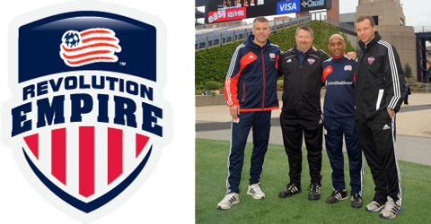New England Revolution adds Empire United as Youth Development Partner