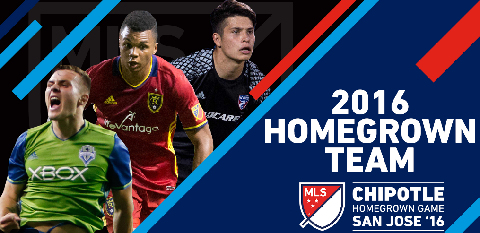 Empire United's Jordan Allen Named to 2016 MLS Chipotle Homegrown Game Roster